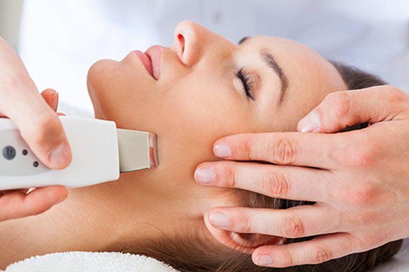Результаты ультразвуковой чистки лица